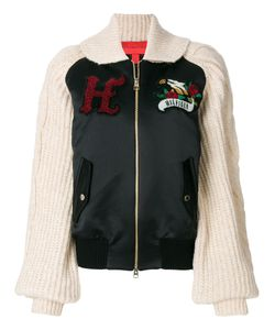 Hilfiger Collection | Knitted Sleeve Bomber Jacket Women