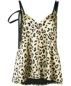 Cinq A Sept | Leopard Print Cami Top Size Medium