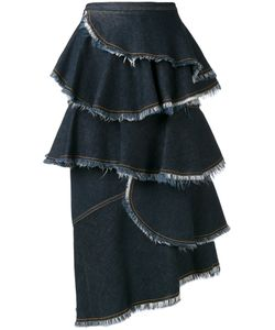Antonio Marras | Laye Denim Skirt 40 Cotton