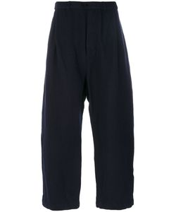 CASEY CASEY | Cropped Loose Trousers Men