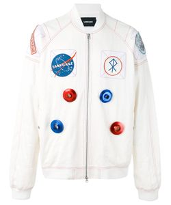 SANKUANZ | Space Motif Bomber Jacket Size Medium