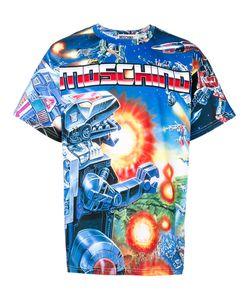 Moschino | Abstract Logo Printed T-Shirt