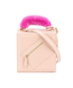 Natasha Zinko   Mink Fur Shoulder Bag Leather/Mink