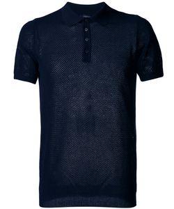 Roberto Collina   Net Polo Shirt Size 52