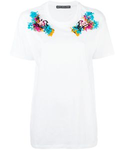 Marco Bologna | Embroidered Shoulder T-Shirt Size
