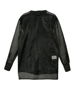 BYUNGMUN SEO | Sheer Longsleeved T-Shirt 50 Cotton/Nylon