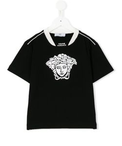 Young Versace | Medusa Embossed T-Shirt 11 Yrs
