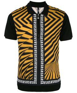 Versus | Diagonal Stripes Polo Shirt