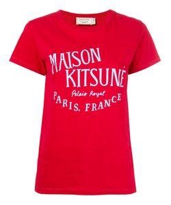 Maison Kitsune   Maison Kitsuné Logo Print T-Shirt Medium Cotton