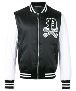 Philipp Plein | Skull Patch Bomber Jacket