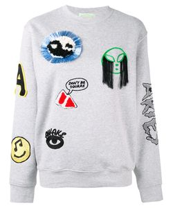 Aries | Patch Embroidered Sweatshirt Size 2