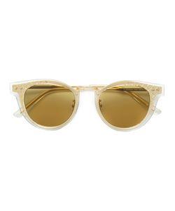 Bottega Veneta Eyewear | Layered Round Frame Sunglasses