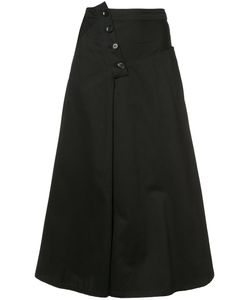 Y'S | O Yoke Panel Skirt Women