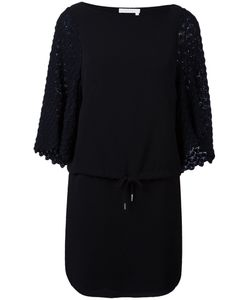 See By Chloe | See By Chloé Contrast Sleeve Drawstring Dress 36