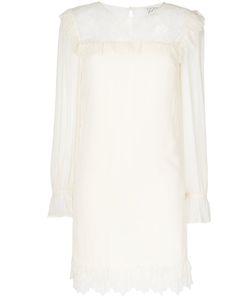 Twin-set | Платье С Кружевной Отделкой