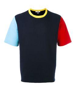 Sunnei   Knitted Colour-Block T-Shirt M