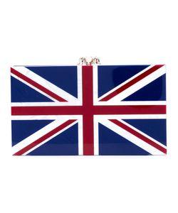 Charlotte Olympia   Клатч С Расцветкой Английского Флага