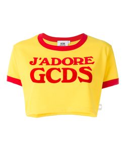 Gcds | Logo Cropped T-Shirt Size Xl