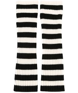 Chinti And Parker | Striped Wrist Warmers