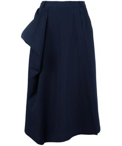 Antonio Marras | Pinstripe Culottes 46 Cotton/Virgin Wool