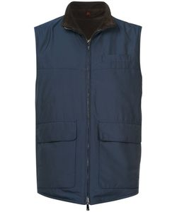 Isaia | Reversible Gilet Men 48