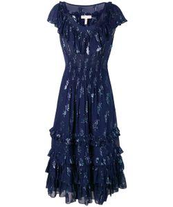 582bdcc960 Rebecca Taylor - Платье Со Звездами И Эффектом Металлик
