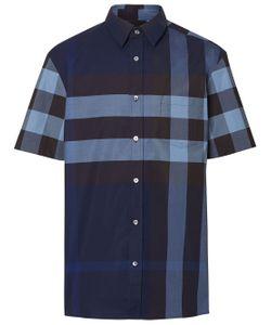 34d6d409d29 Burberry - Клетчатая Рубашка С Короткими Рукавами