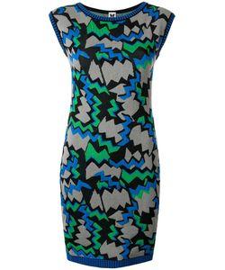 Missoni | Sleeveless Knitted Dress 38 Cotton/Polyamide