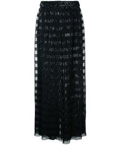 Huishan Zhang | Sequined Palazzo Pants 12 Polyester