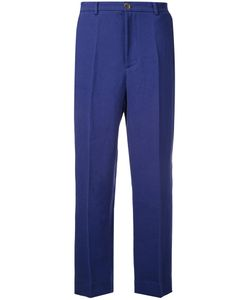 Erika Cavallini | Cropped Pants 48 Linen/Flax