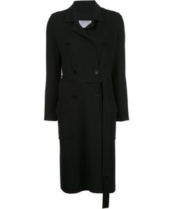 Maiyet | Double-Breasted Knit Trenchcoat Medium Cashmere