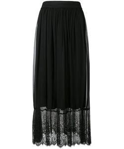 Federica Tosi   Lace Hem Maxi Skirt
