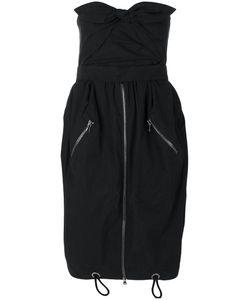 Moschino | Zipped Drawstring Dress