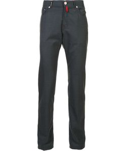 Kiton | Tape Trousers 40 Wool