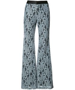 Alexis | Embroidered Flared Trousers Size Medium