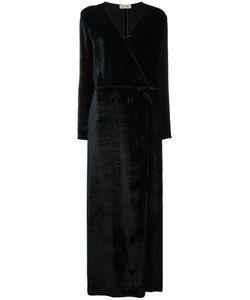 ATTICO   V Neck Wrap Belted Dress Size 4