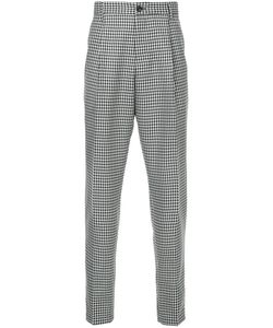 Tomorrowland | Checked Tailored Trousers Men