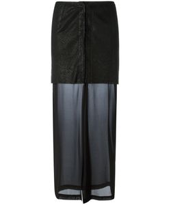 Lost & Found Ria Dunn | Perforated Layer Skirt Size Medium