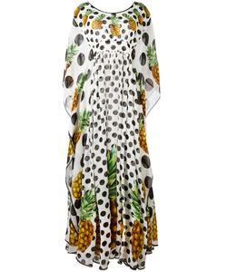 Dolce & Gabbana | Pineapple Polka Dot Dress 38