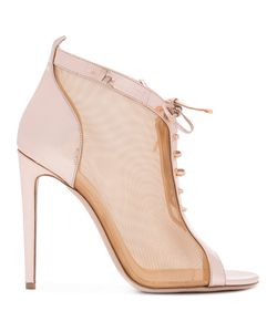 CHLOE GOSSELIN | Open-Toe Mesh Sandals Leather/Polypropylene/Lamb Nubuck