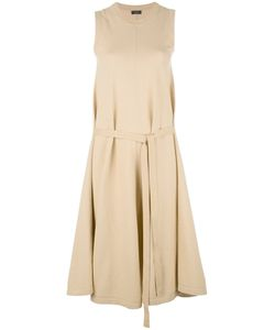 Joseph | April Drawstring Pleated Trim Dress Small Cotton