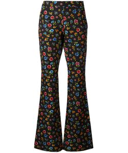 Moschino | Flower Power Fla Trousers 44 Cotton/Rayon