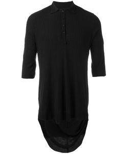 CEDRIC JACQUEMYN | Silk Polo Shirt 46 Silk