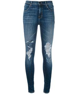 J Brand   Maria Decoy Destroyed Jeans Size 25