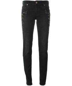 Versace Jeans | Укороченные Декорированные Джинсы
