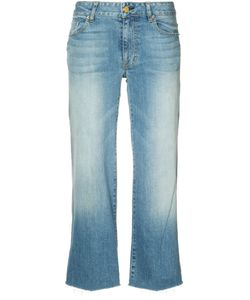 Nili Lotan | Wide Leg Cropped Jeans