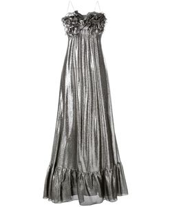 Daniele Carlotta | High Shine Evening Dress Size Silk/Metallized