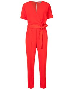 Trina Turk | Belted Jumpsuit 6 Polyester