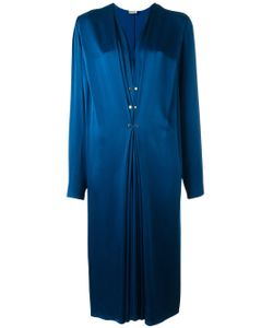 Lanvin   Ruffled Accent Maxi Dress