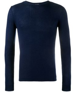 Lot 78 | Lot78 Ribbed Sweater Large Cashmere/Viscose/Silk